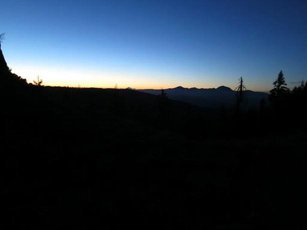 PCT NorCal Sunset