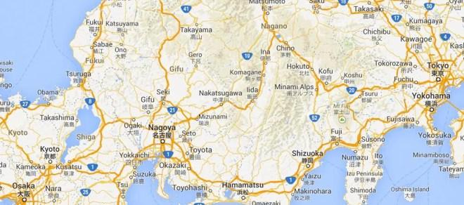 Fukui Map