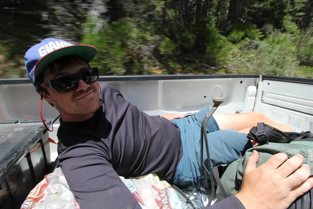 Moist In Truck Bed