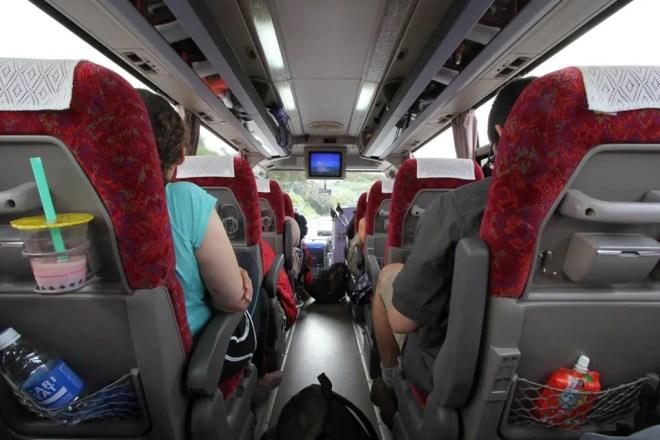 Mount Fuji Bus Ride