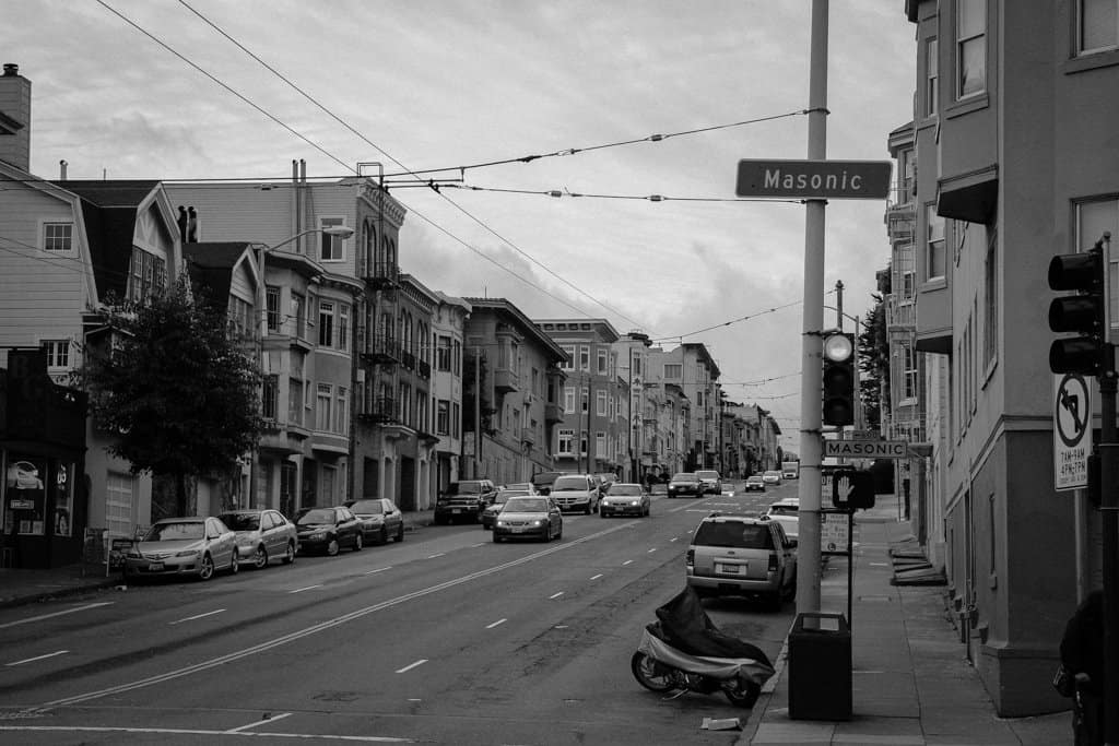 San Francisco BW