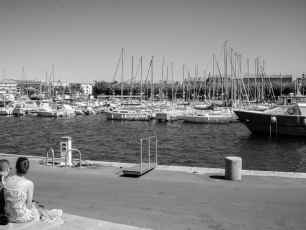 Saint-Raphaël Black And White
