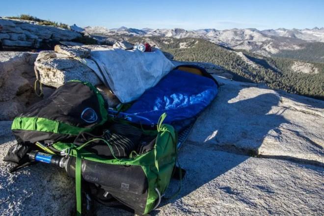 Yosemite Clouds Rest Campsite