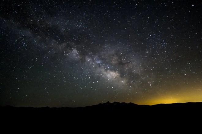 Yosemite Clouds Rest Stars