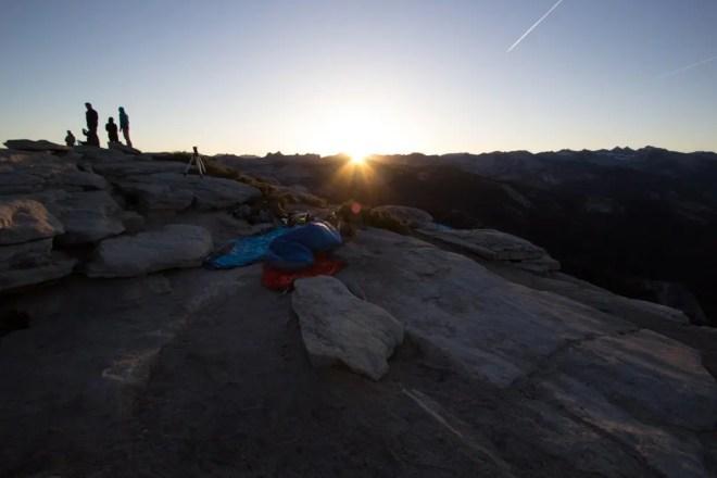 Yosemite Clouds Rest Sunrise