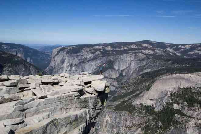Yosemite Half Dome Diving Board