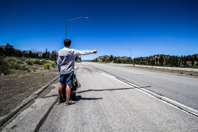 Yosemite Hitchhiking Moist
