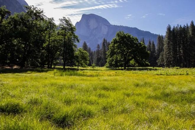 Yosemite Valley Half Dome