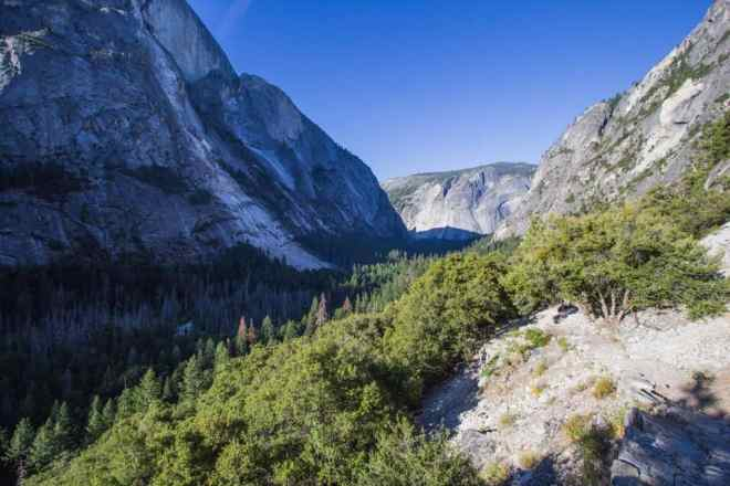 Yosemite Valley Hike Out