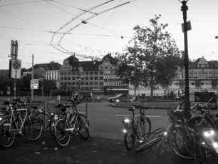 Zurich Bikes Black And White