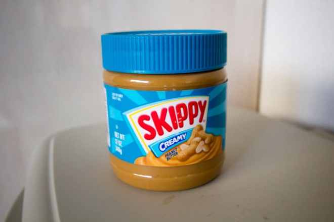 Skippy Peanut Butter Jar