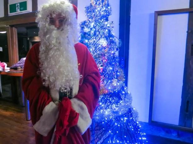 Japanese Self Santa