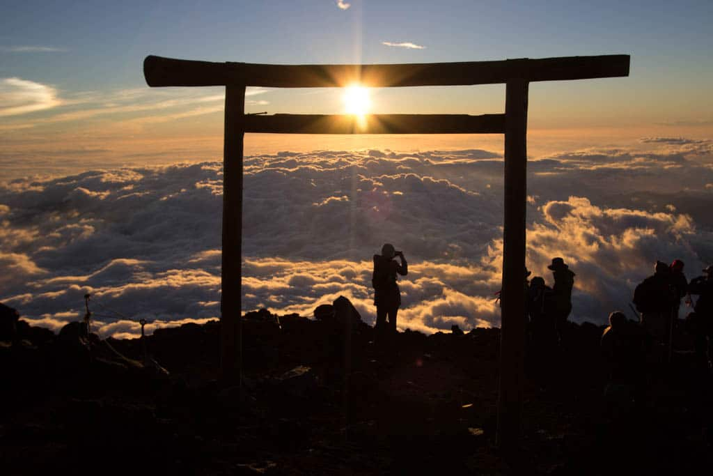 Mount Fuji Gate Sunrise