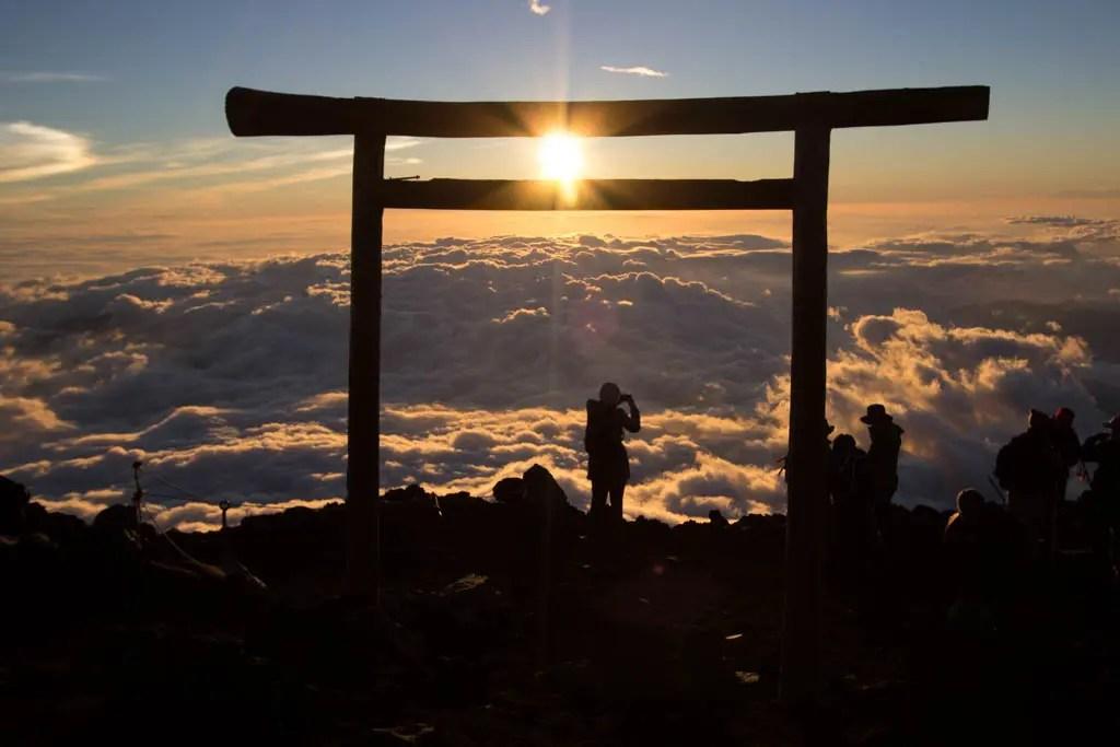 Mount Fuji Gate Sunrise