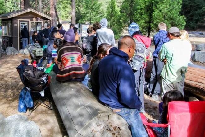 Yosemite Camp 4 Line
