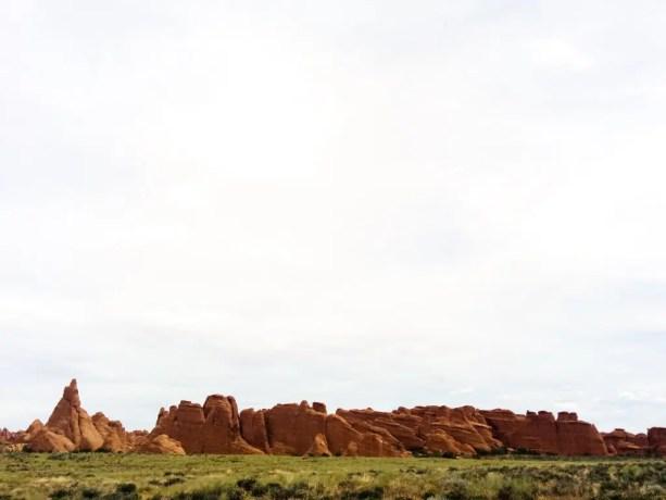 Arches National Park Sky