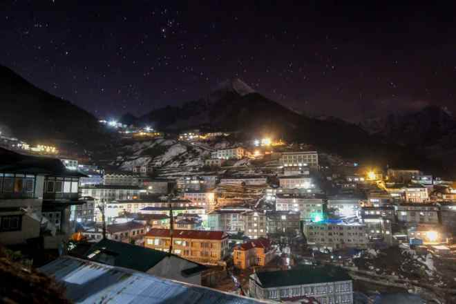Namche By Night