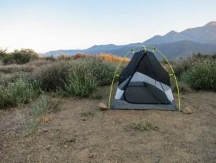 PCT Desert Tent Mountains