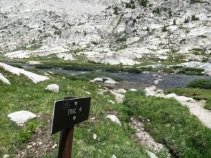 PCT Trail Sierra Sign
