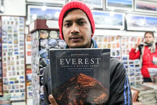 Anders Kathmandu Everest Book