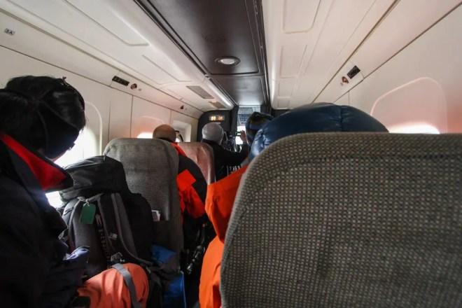 Inside Lukla Flight