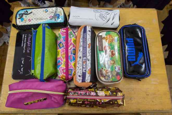 Japanese Student Pencil Cases