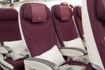 Qatar Airways Economy Class Seats