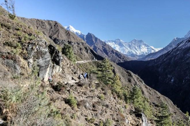 Everest Base Camp Trail Namche Bazaar