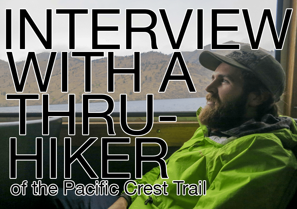 Appa Boat Pacific Crest Trail Interview