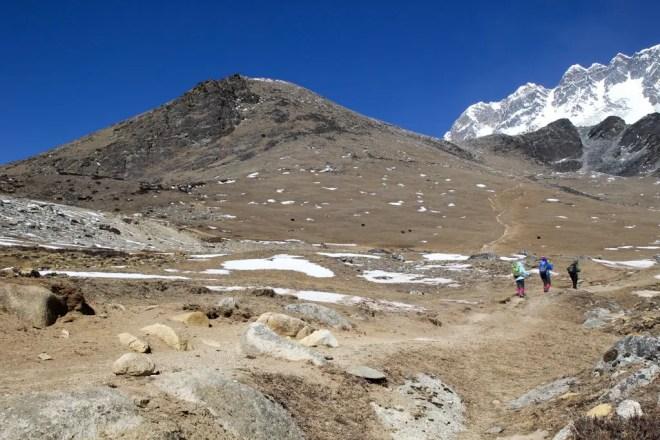 Bottom of Chukhung-Ri Himalaya Hikers