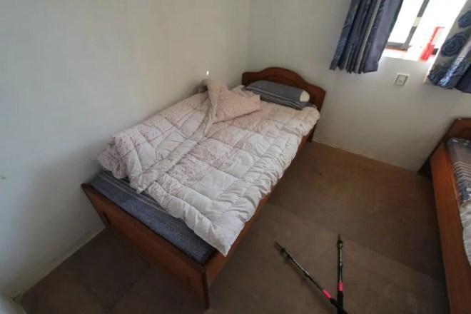 Chukhung Lodge Bed