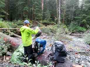 Indie Washington PCT Rain