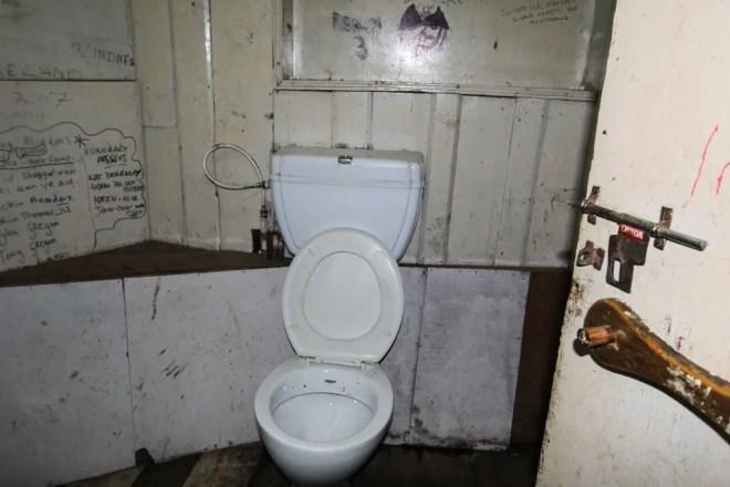 Nepal Namche Bazaar Toilet Himalaya