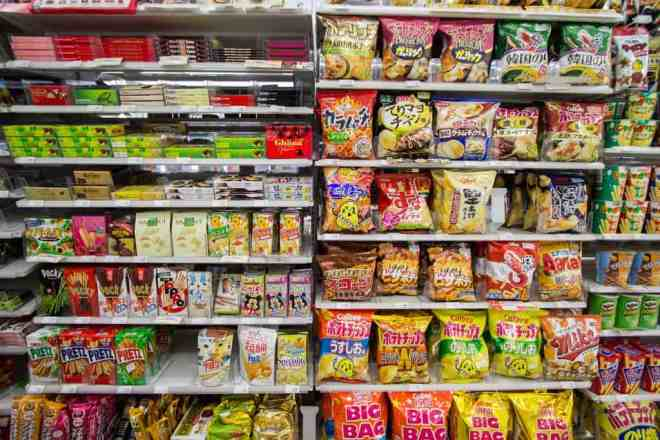 Family Mart Japan Konbini Snacks