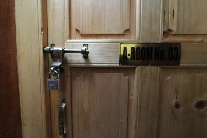 Chukhung Lodge Door Lock