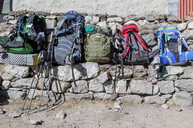 Everest Base Camp Trek Packs Duglha