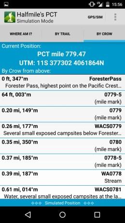 Halfmile PCT App Screenshot 7