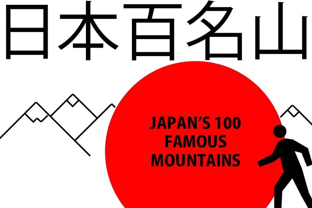 Japans 100 Famous Mountains Features