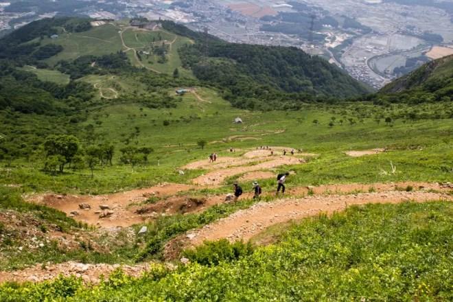 Mt Ibuki Trail Switchbacks