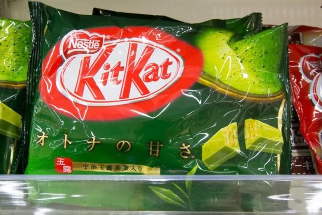 Japanese Supermarket Green Tea Kit Kat