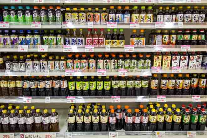 Japanese Supermarket Soy Sauce