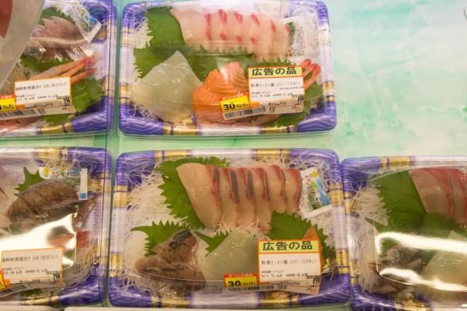 Japanese Supermarket Sushi