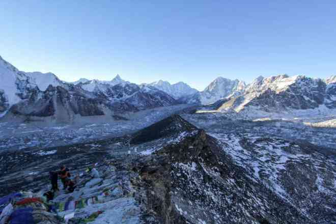 Kala Patthar Valley South View