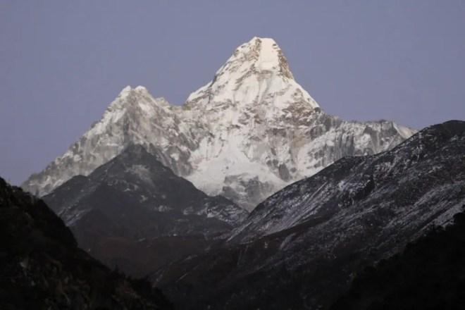 Ama Dablam Sunset Himalaya