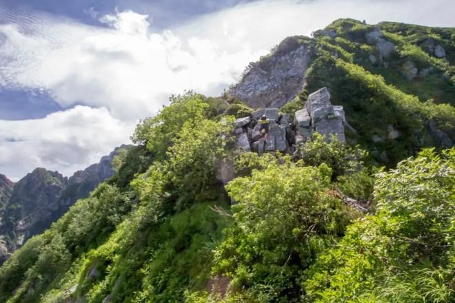 Mt Tsurugi Ridgeline