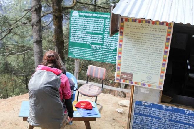 Nepal EBC Trek TIMS Station