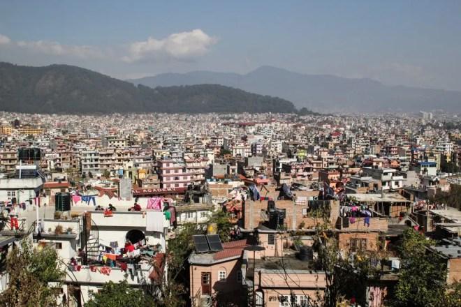 Kathmandu City View