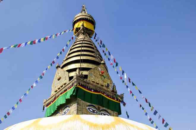 Kathmandu Monkey Temple Stupa