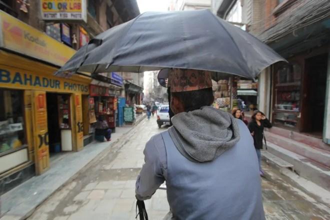 Kathmandu Rickshaw Ride