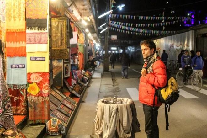 Kathmandu Thamel Night